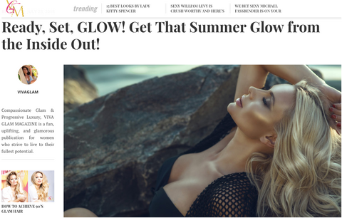 Viva Glam Magazine Yourlixir Superfoods Summer Glow