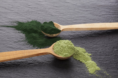 yourlixir superfoods matcha spirulina powder