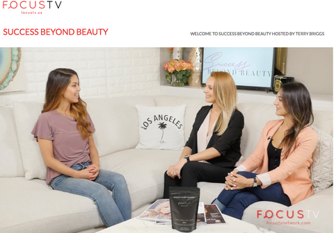yourlixir superfoods focus tv success beyond beauty interview