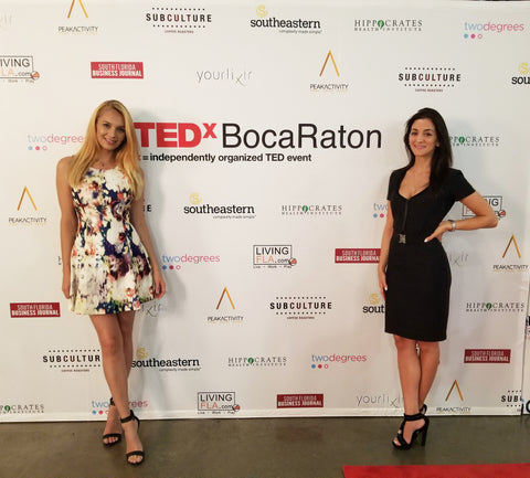 yourlixir tedxbocaraton step and repeat founders