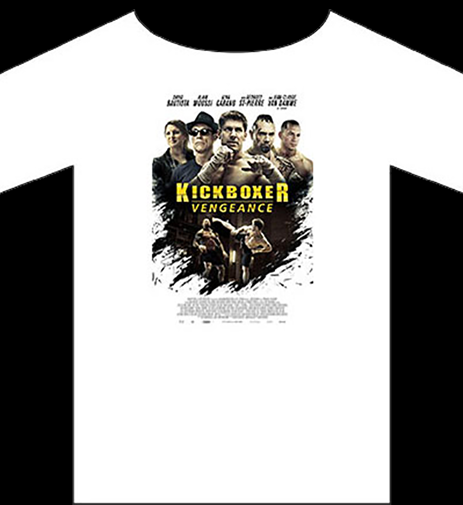 Kickboxer Vengeance Official production T-Shirt