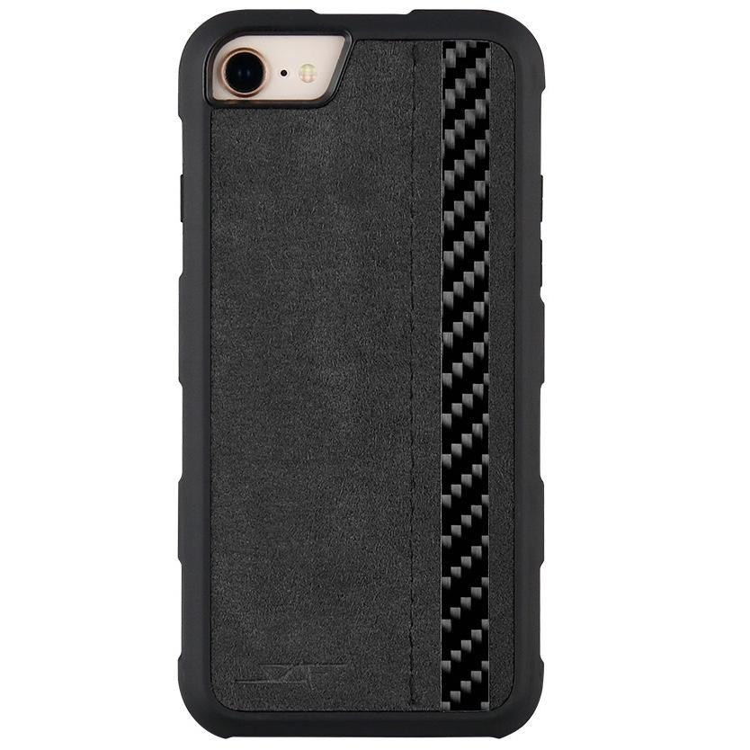 iPhone 6/7/8 Alcantara & Real Carbon Case | Armor Series