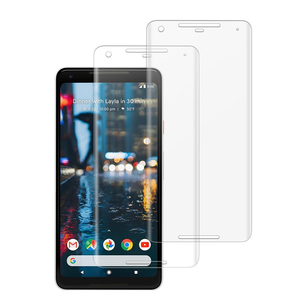 (PIXEL 2 XL) Shatterproof 3D Curve Screen Guard (2 Pack)