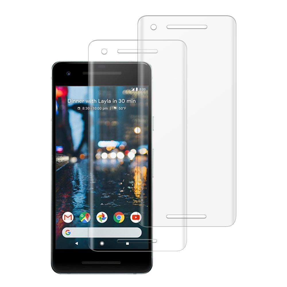 (PIXEL 2) Shatterproof 3D Curve Screen Guard (2 Pack)
