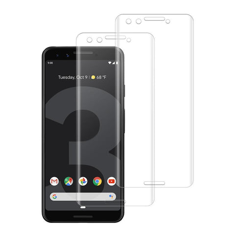 (PIXEL 3) Shatterproof 3D Curve Screen Guard (2 Pack)