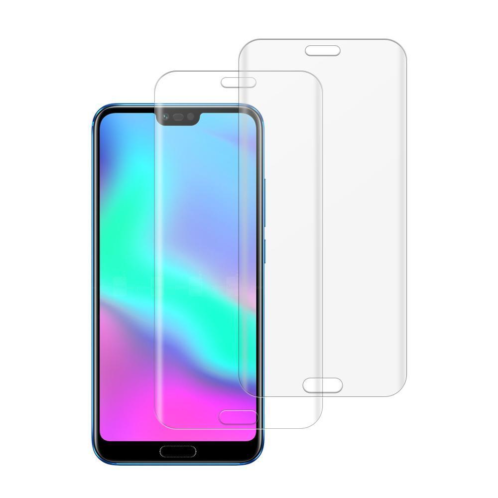 (Honor 10) Shatterproof 3D Curve Screen Guard (2 Pack)