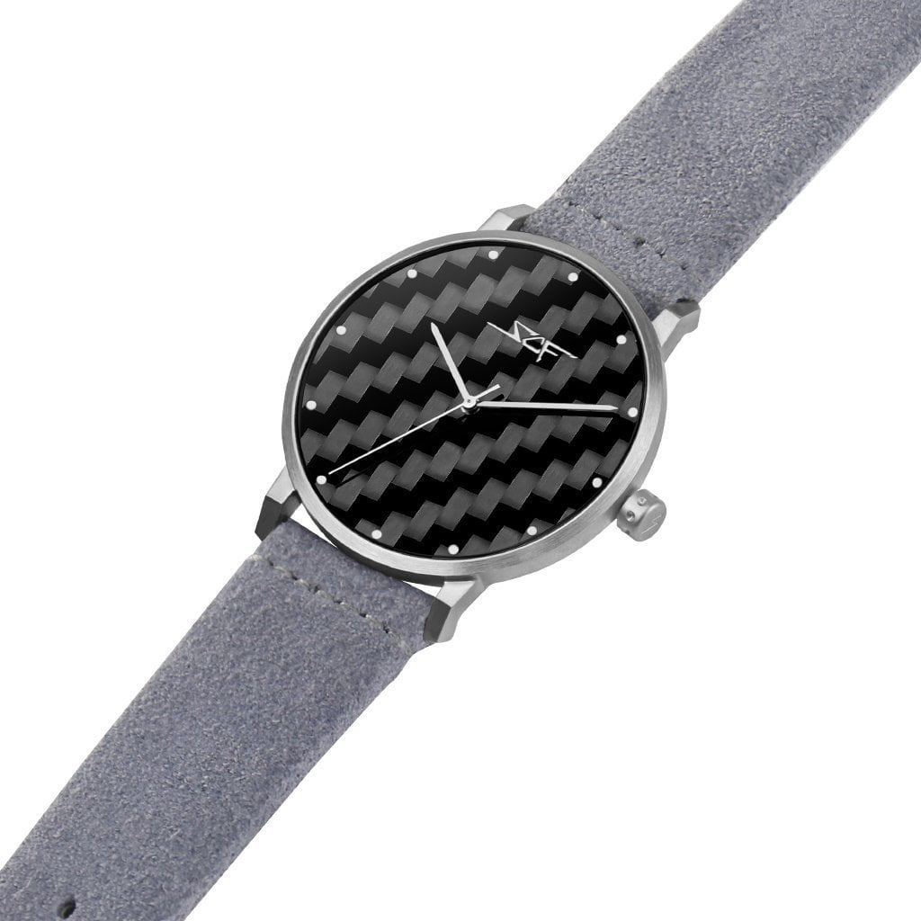 ●GRIGIO● ALPHA Series Carbon Fiber Watch