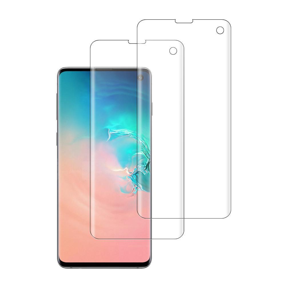 (S10) Shatterproof 3D Curve Screen Guard (2 Pack)