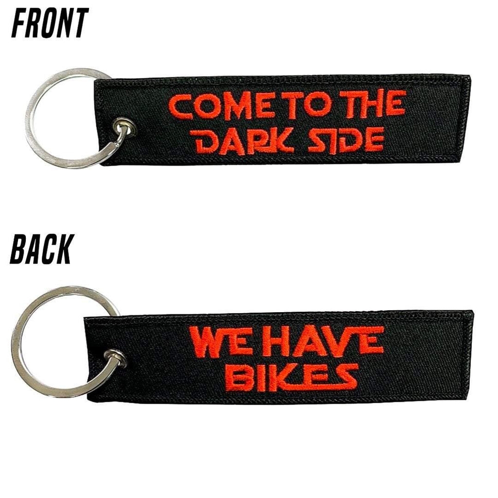 Come To The Dark Side Keychain