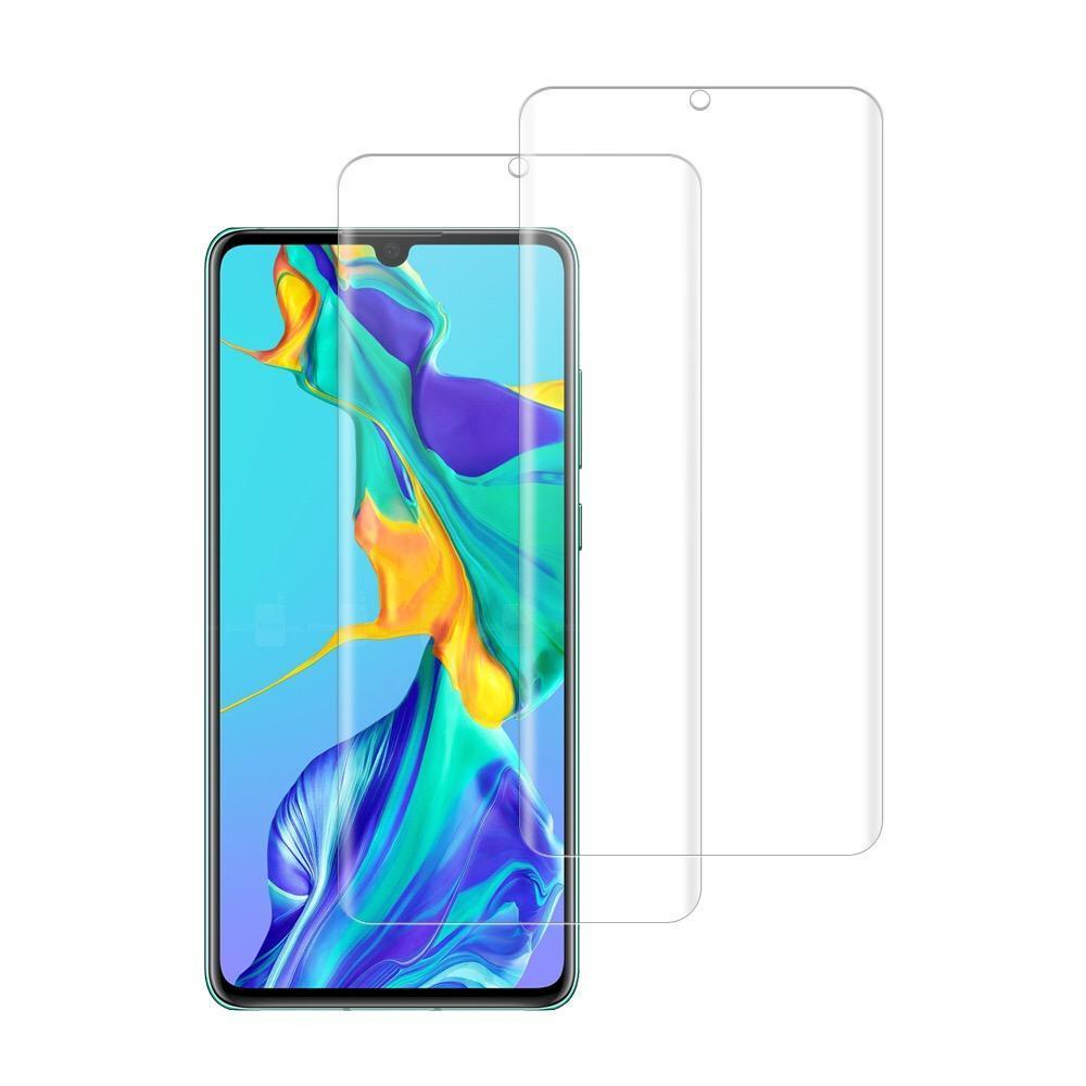 (Huawei P30) Shatterproof 3D Curve Screen Guard (2 Pack)