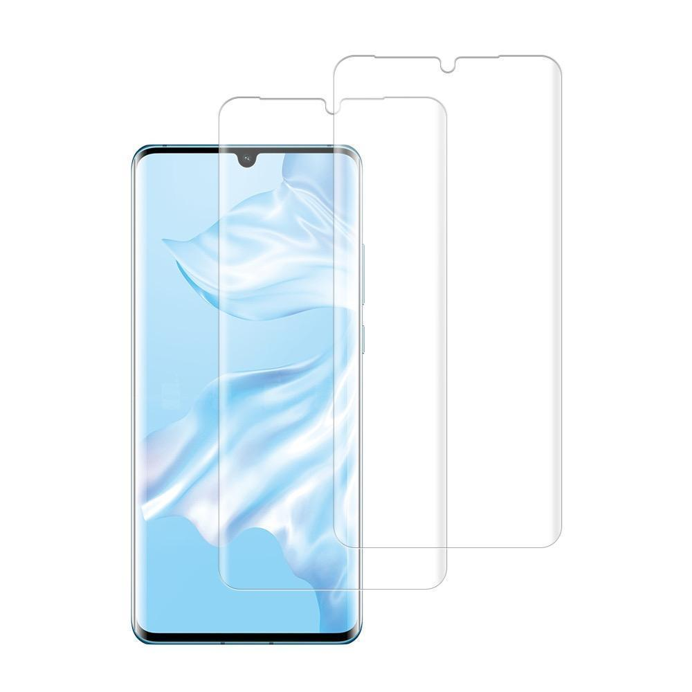 (Huawei P30 PRO) Shatterproof 3D Curve Screen Guard (2 Pack)