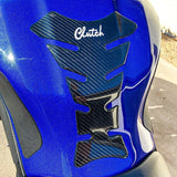 Real Carbon Fiber Motorcycle Tank Pad