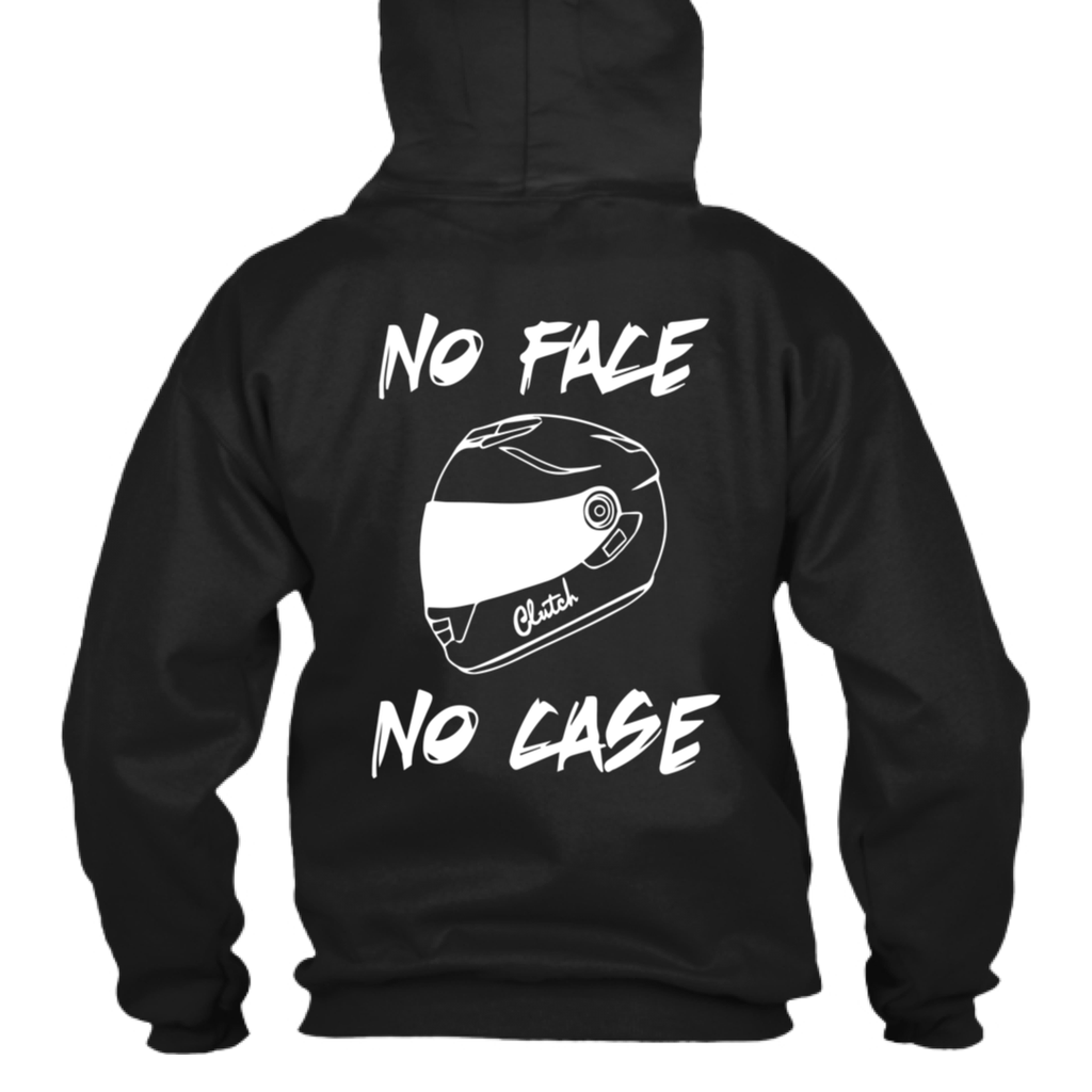 Unisex No Face No Case Hoodie (Front/Back)