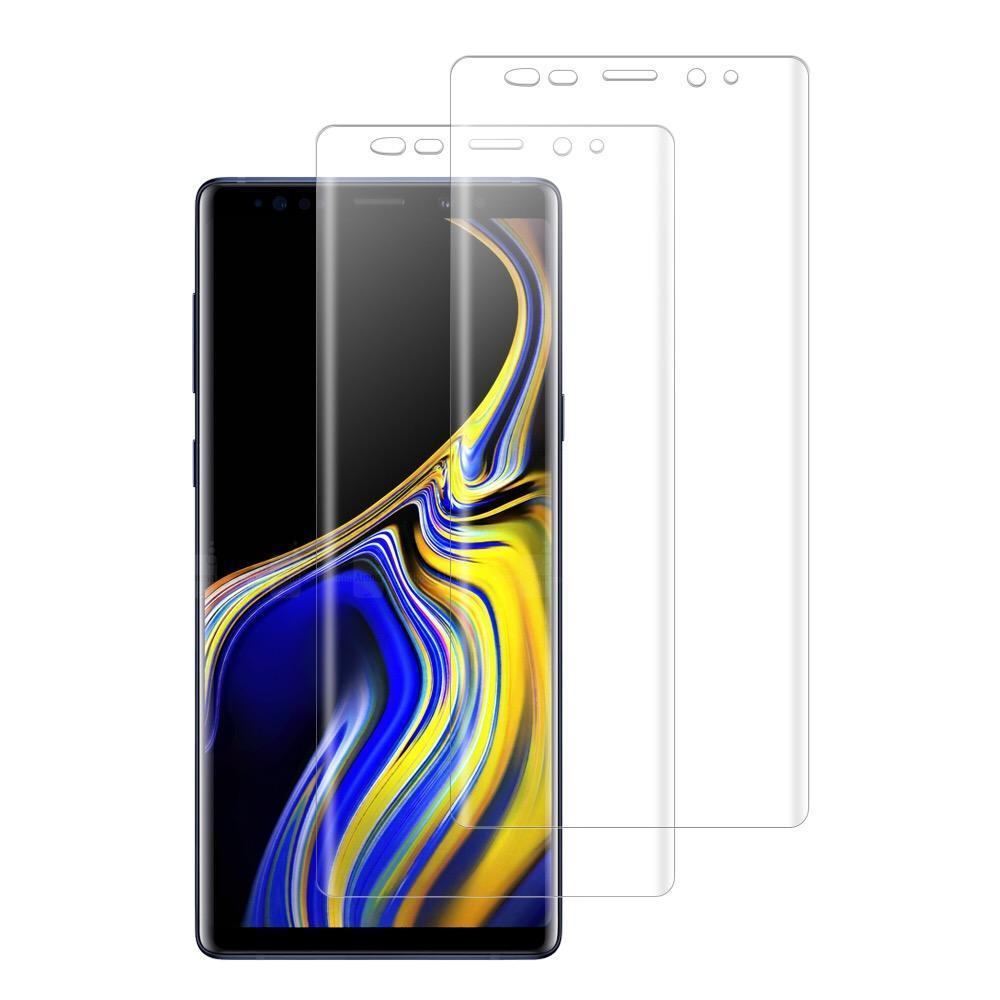 (NOTE 9) Shatterproof 3D Curve Screen Guard (2 Pack)