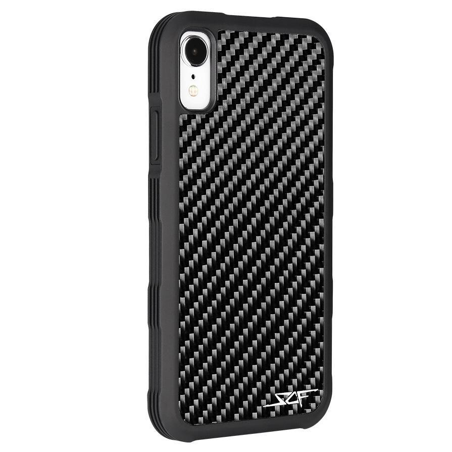 iPhone XR Real Carbon Fiber Case | ARMOR Series