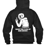 Unisex Put The Phone Down Hoodie (Front/Back)