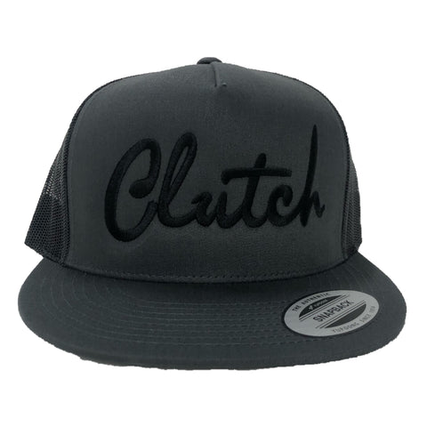 Clutch Hat - Black/Gray (Mesh Back)