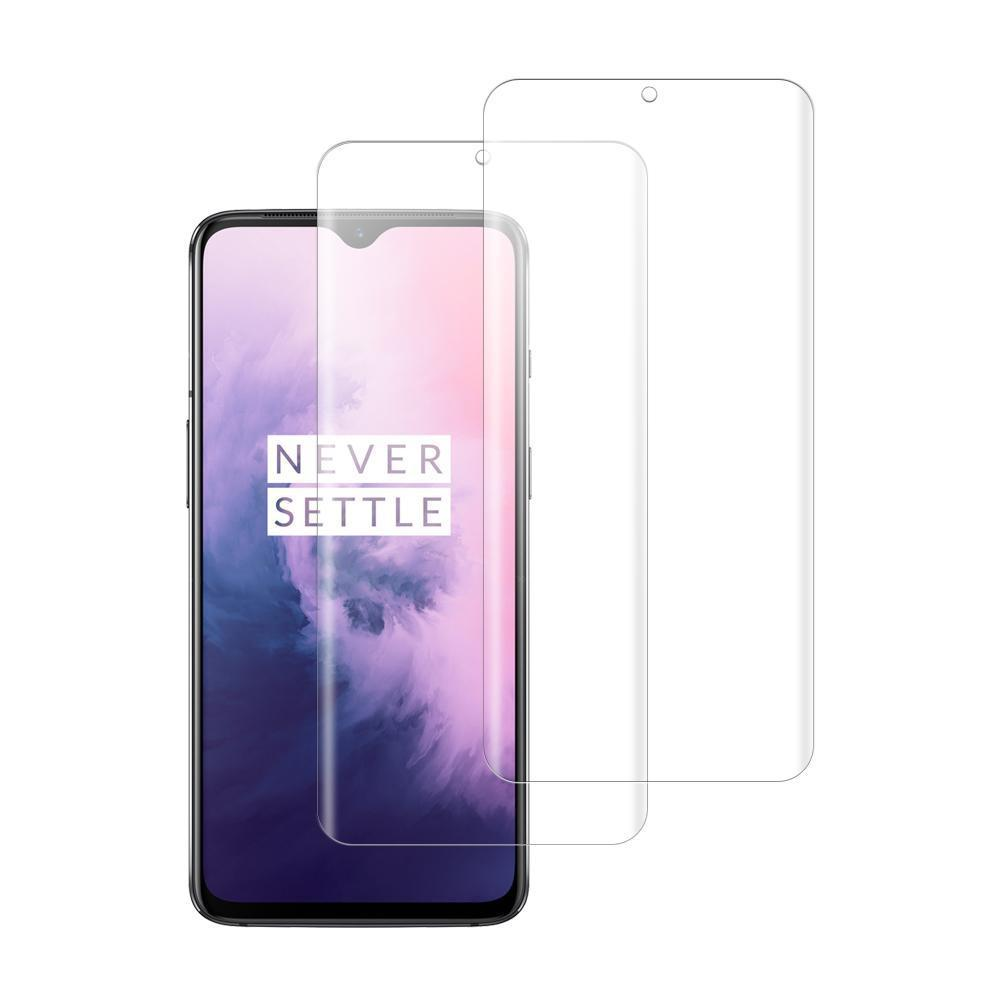 (OnePlus 7) Shatterproof 3D Curve Screen Guard (2 Pack)