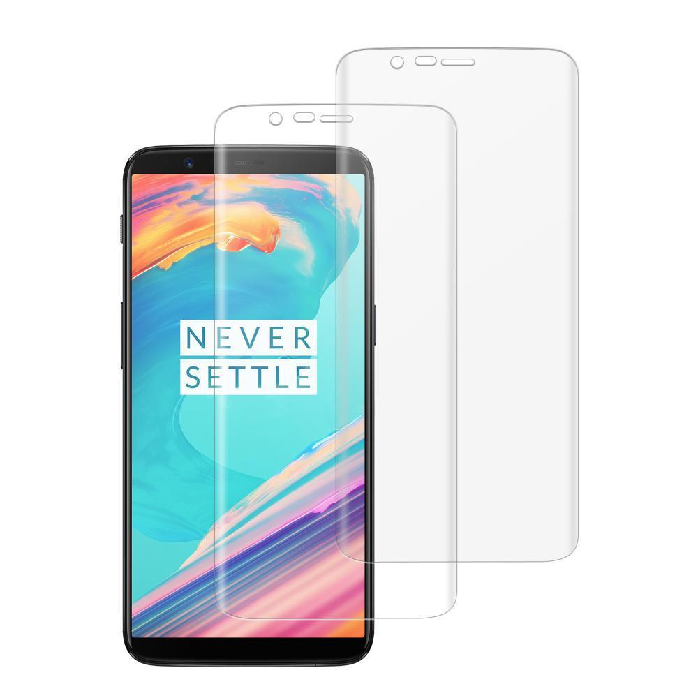 (OnePlus 5T) Shatterproof 3D Curve Screen Guard (2 Pack)