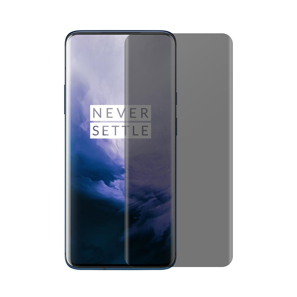 (OnePlus 7 PRO) Shatterproof 3D Curve Screen Guard (Privacy Edition)