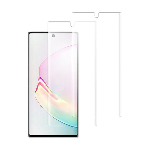 (NOTE 10) Shatterproof 3D Curve Screen Guard (2 Pack)