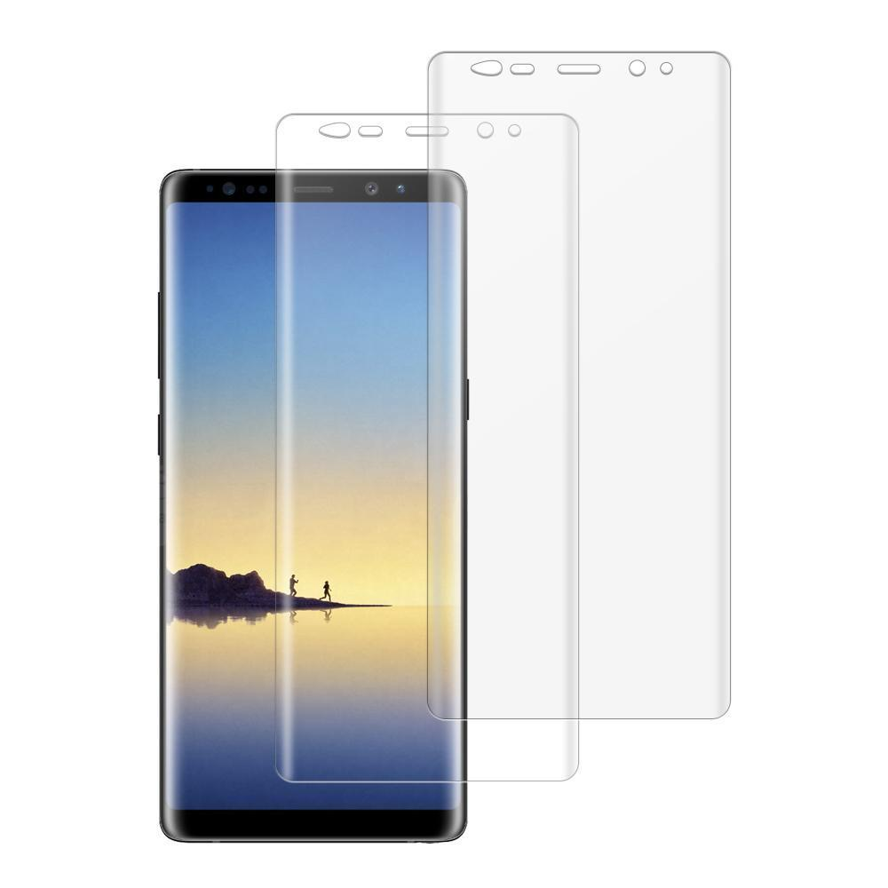 (NOTE 8) Shatterproof 3D Curve Screen Guard (2 Pack)