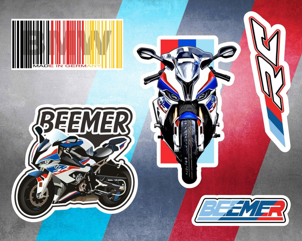 Beemer Sticker Sheet