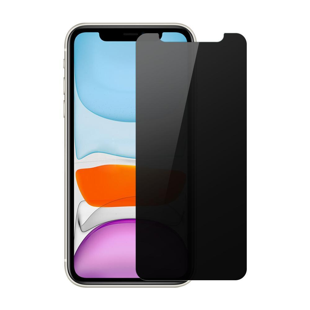 (iPhone 11) Shatterproof Screen Guard (Privacy Edition)