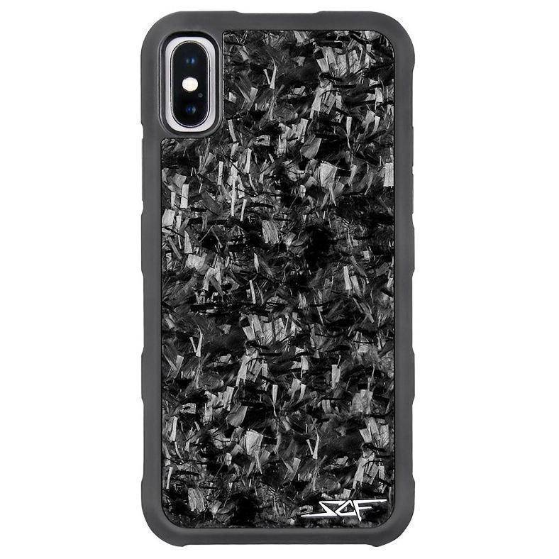 iPhone X & XS Real Forged Carbon Case