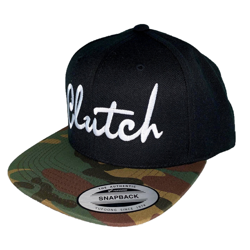 Clutch Camouflage Bill Snapback