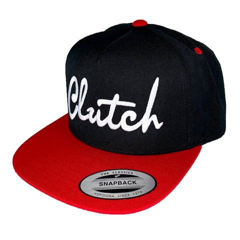Clutch Red Bill Snapback