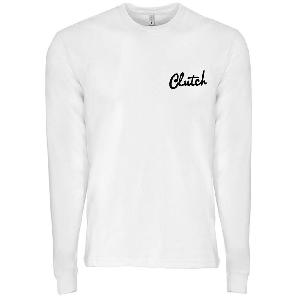 Men's Clutch Cursive Long Sleeve Tee