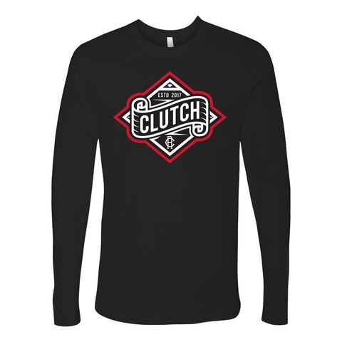 Men's Clutch Moto Long Sleeve Tee