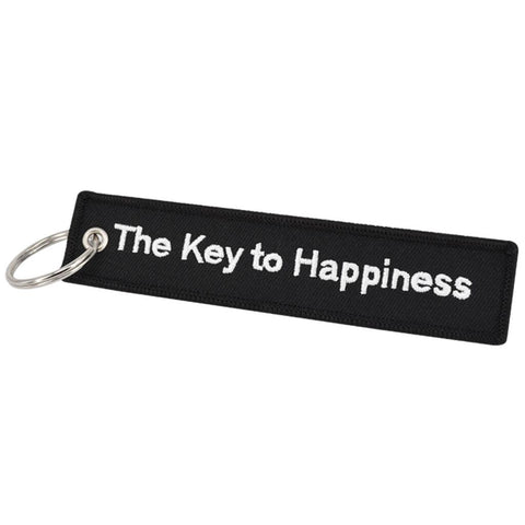 The Key To Happiness Keychain