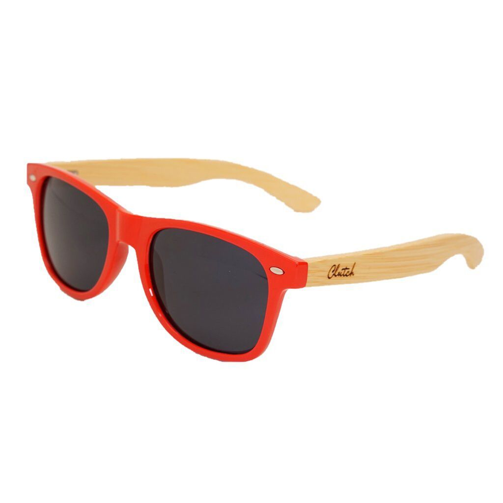 Clutch Red Sunglasses