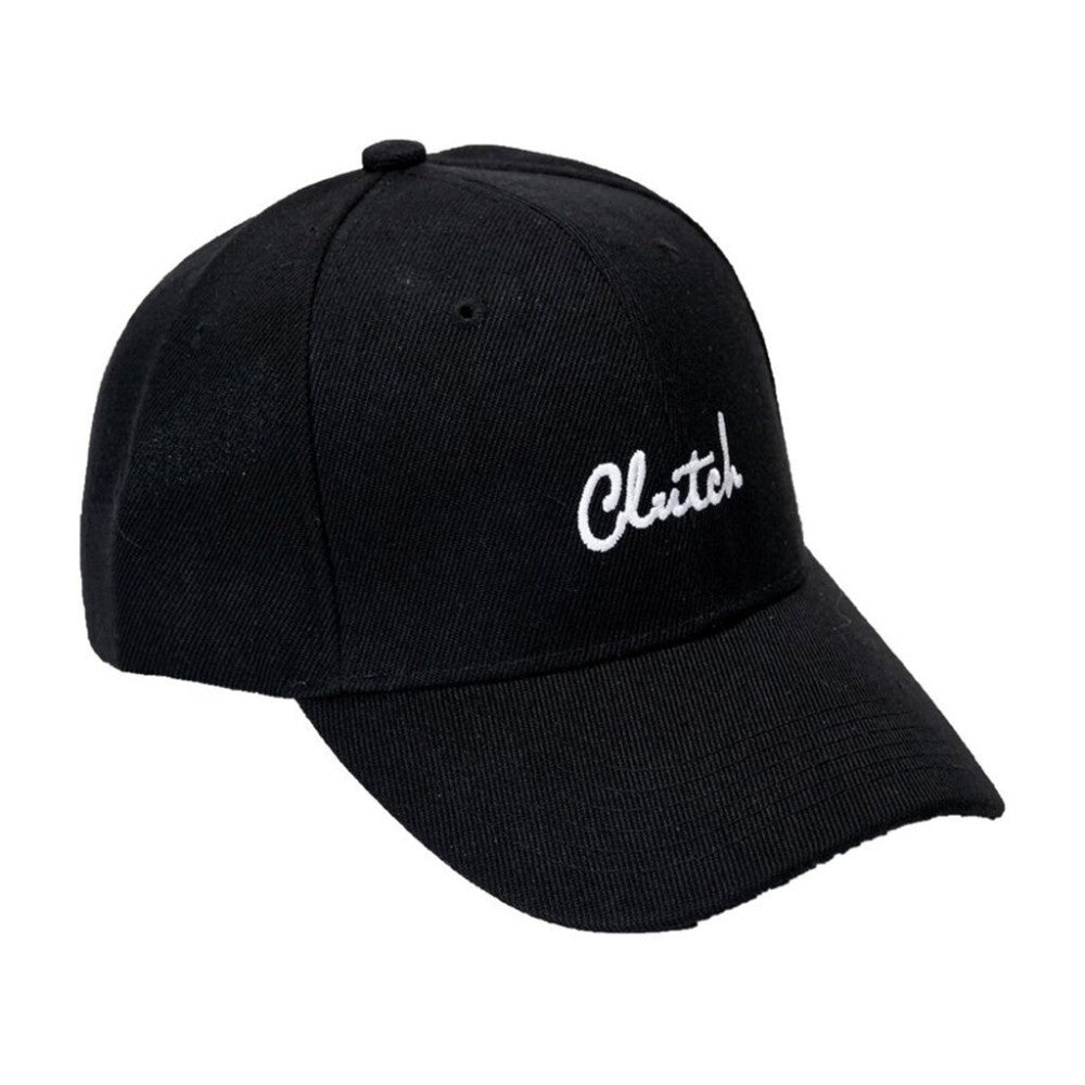 Clutch Black Velcro Hat