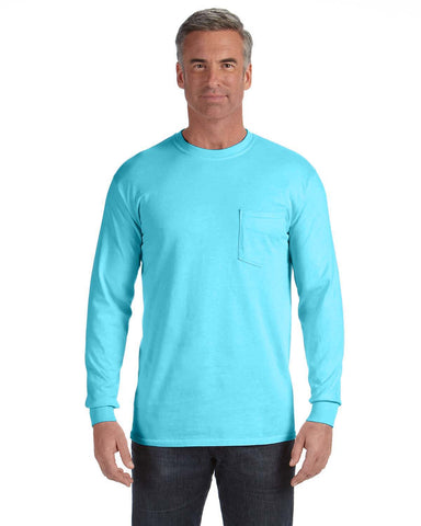 Comfort Colors Long Sleeve Pocket T