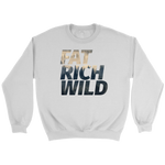 FAT RICH WILD MIST CREWNECK SWEATER