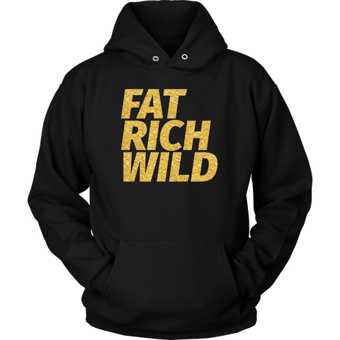 FAT RICH WILD SIGNATURE PULLOVER HOODIE
