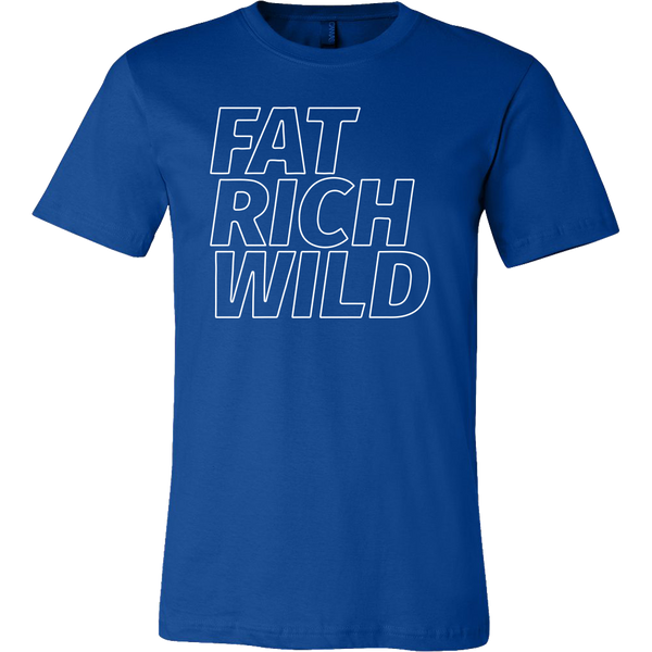 FAT RICH WILD OUTLINE T-SHIRT