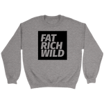FAT RICH WILD BLACK EDITION CREWNECK SWEATER