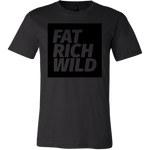 FAT RICH WILD BLACKOUT T-SHIRT