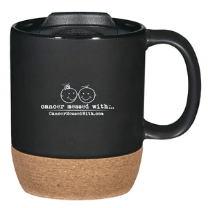 13 oz. Brea Cork Ceramic Travel Mug - PRE-ORDER
