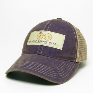 Cancer Messed With Hat - Purple