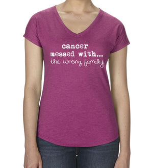 The Wrong Family V-neck Womens