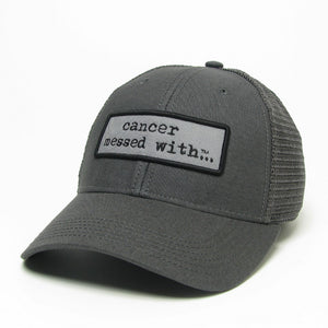 Cancer Merchandise, Cancer Messed With Hat