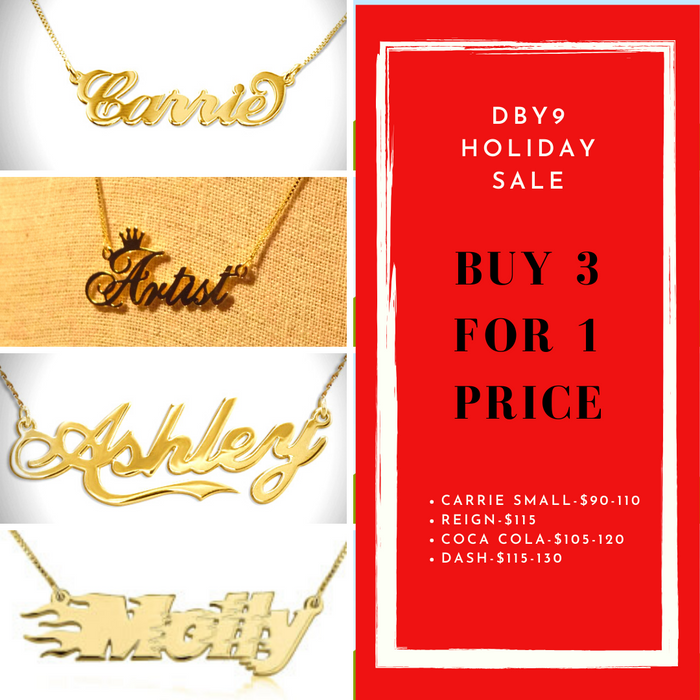 2019 BFCM Holiday Sale - Buy 3 for 1 Low Price