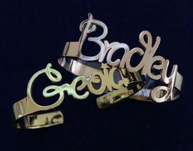 DBY9 Kids - Girlie Name Bangle