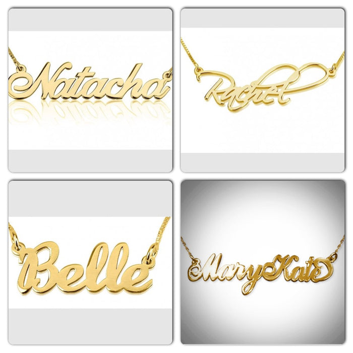 CA $65 Gold Name Plates