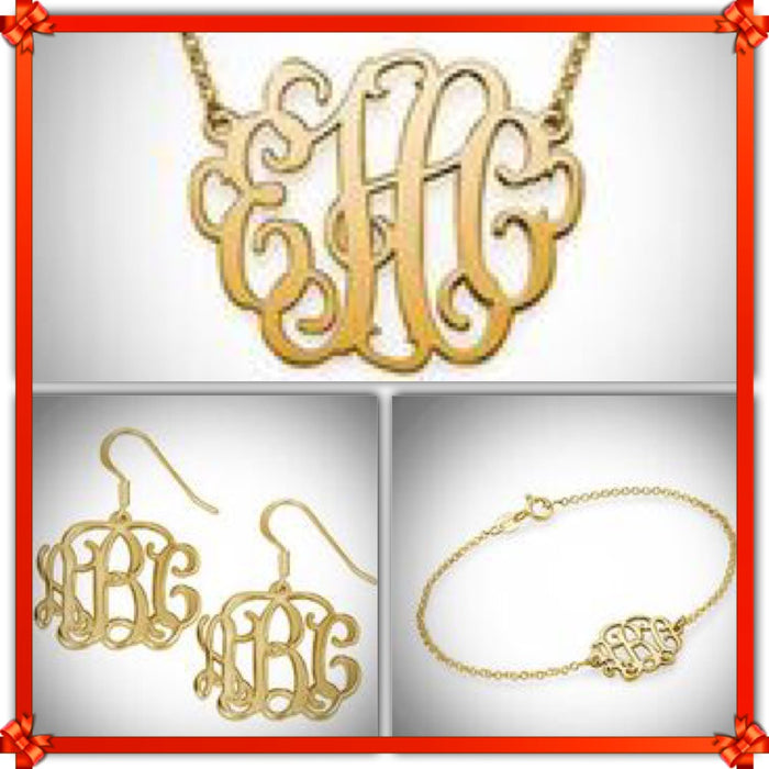 2019 BFCM Holiday Sale Monogram Bundle